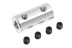 G-Force RC - Direct Shaft Coupling - Shaft Dia. 3.2/4mm - OD 9mm - 1 pc