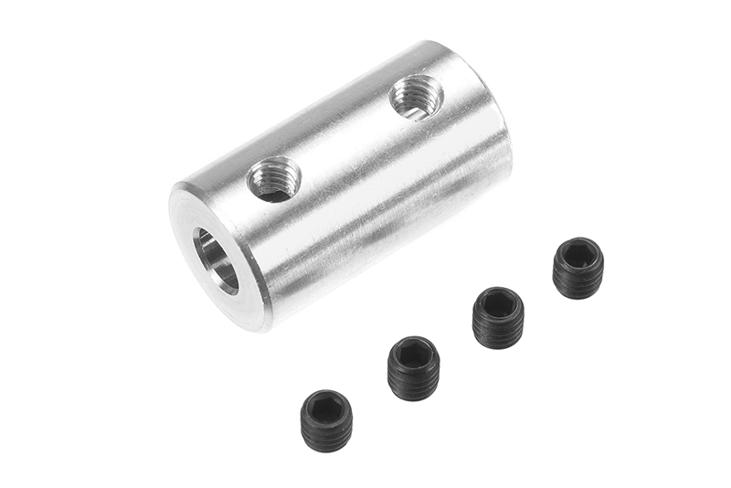 G-Force RC - Direct Shaft Coupling - Shaft Dia. 4/4mm - OD 10mm - 1 pc