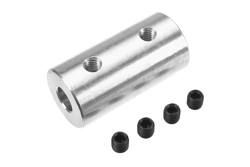 G-Force RC - Direct Shaft Coupling - Shaft Dia. 6/4mm - OD 15mm - 1 pc
