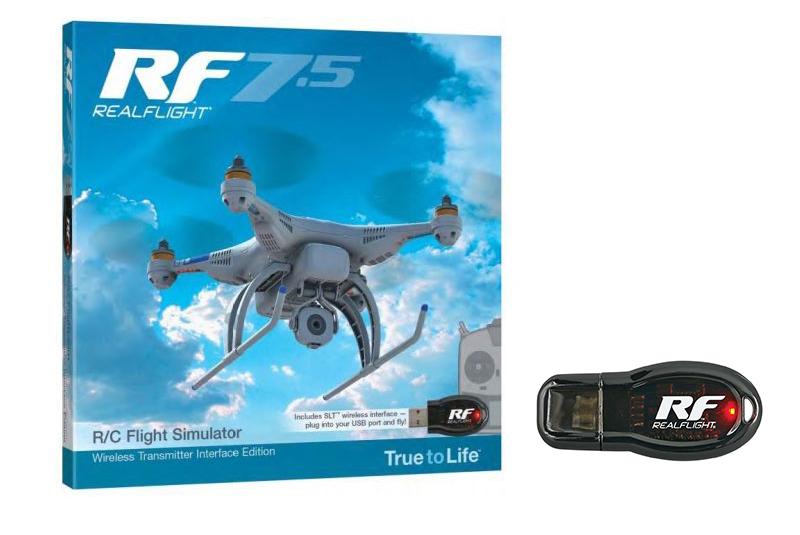 RealFlight - Flight Simulator RF 7.5 - with Wireless SLT Interface