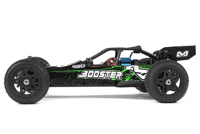 Ishima - Car Kit - Booster 4WD - 1/12 Buggy - Incl Battery and charger - RTR