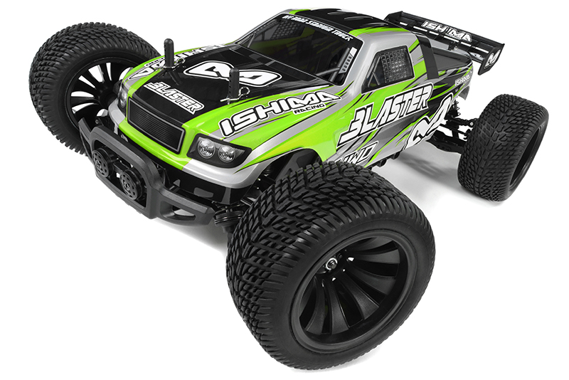 Ishima Car Kit Blaster 4wd 1 12 Truggy Incl Battery And