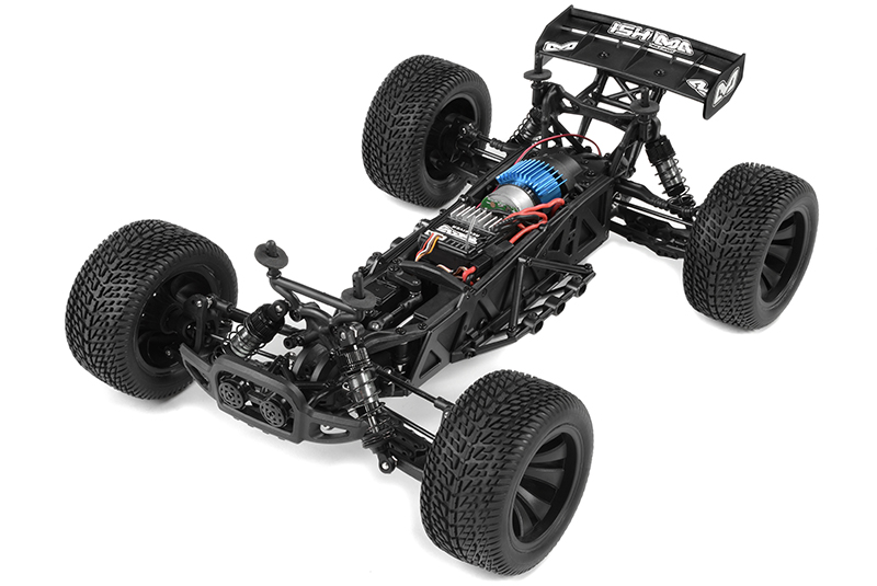 Ishima - Car Kit - Blaster 4WD - 1/12 Truggy - Incl Battery and charger - RTR