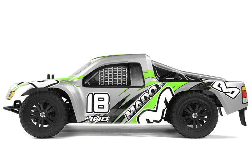 Ishima - Car Kit - Madox 4WD - 1/12 Short Course - Incl Battery and charger - RTR