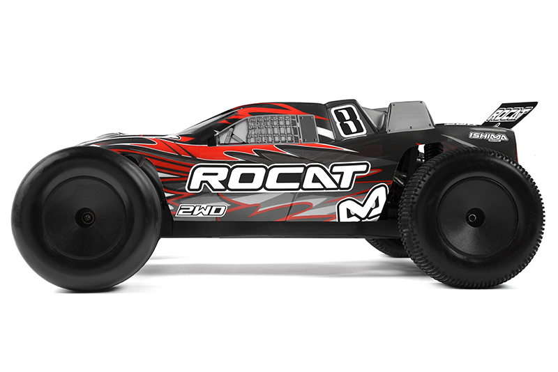 Ishima - Car Kit - Rocat 2WD - 1/10 Truggy - Incl NiMh Battery and charger - RTR
