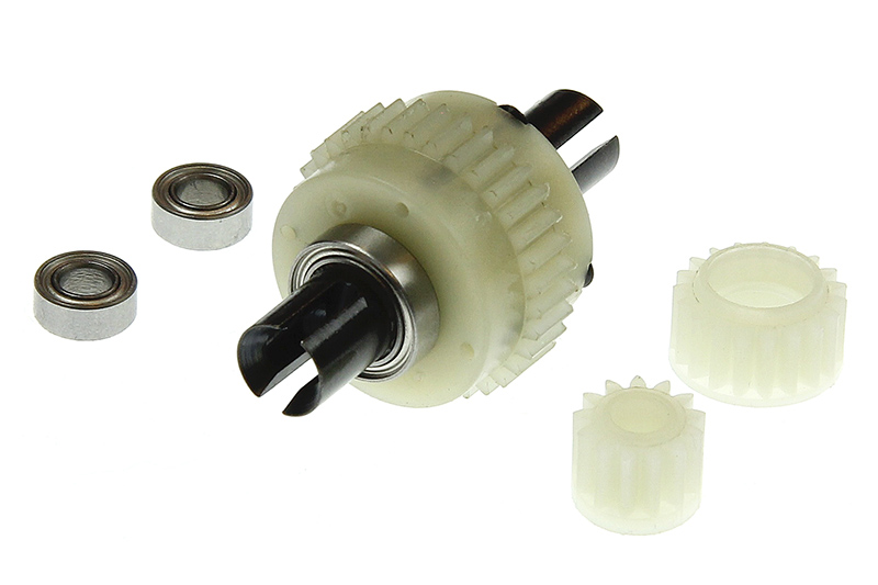 Ishima - Diff. Complete +  Idler Gear +  Diff. Pinion Gear  +  Ball Bearing (5*10*4)