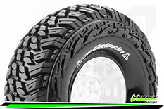 Louise RC - CR-GRIFFIN - 1-10 Crawler Tires - Super Soft - for 1.9 Wheels - L-T3230VI