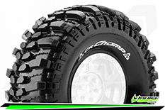 "Louise RC - CR-CHAMP - 1-10 Crawler Tires - Super Soft - for 1.9"" Rims - 1 Pair"