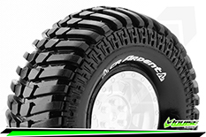 "Louise RC - CR-ARDENT - 1-10 Crawler Tires - Super Soft - for 1.9"" Rims - 1 Pair"