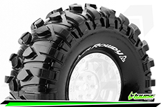 "Louise RC - CR-ROWDY - 1-10 Crawler Tires - Super Soft - for 1.9"" Rims - 1 Pair"