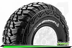 "Louise RC - CR-GRIFFIN - 1-10 Crawler Tires - Super Soft - for 2.2"" Rims - 1 Pair"