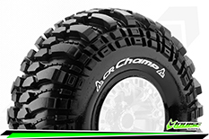 "Louise RC - CR-CHAMP - 1-10 Crawler Tires - Super Soft - for 2.2"" Rims - 1 Pair"