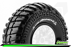 "Louise RC - CR-ARDENT - 1-10 Crawler Tires - Super Soft - for 2.2"" Rims - 1 Pair"