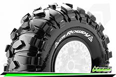 "Louise RC - CR-ROWDY - 1-10 Crawler Tires - Super Soft - for 2.2"" Rims - 1 Pair"