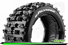 Louise RC - B-PIONEER - 1-5 Buggy Tire Set - SPORT - Rear - 1 Pair