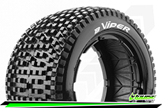 Louise RC - B-VIPER - 1-5 Buggy Tire Set - SPORT - Rear - 1 Pair