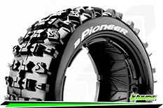 Louise RC - B-PIONEER - 1-5 Buggy Tire Set - SPORT - Front - 1 Pair