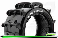 Louise RC - B-PADDLE - 1-5 Buggy Tire Set - SPORT - Rear - 1 Pair