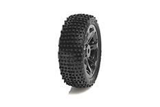 Medial Pro - Sport Tires glued on Rims - Viper 2.2 - Black Rims - Front Bandit/VXL