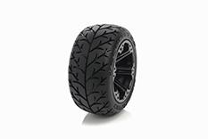 Medial Pro - Sport Tires glued on Rims - Velocity 2.8 - Black Rims - Front Jato, Nitro Sport, Nitro Rustler