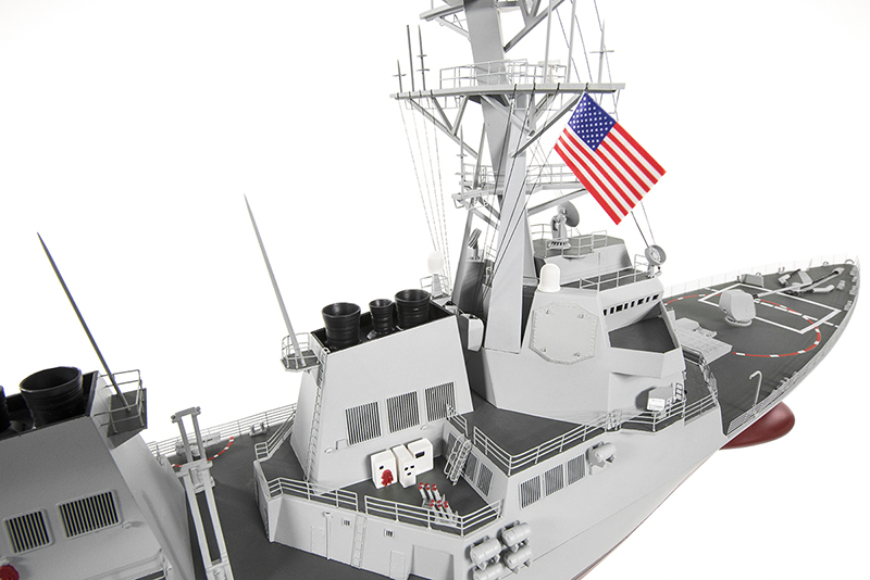 Naviscales -  Arleigh Burke - Destroyer Boat, incl. Esc, Motor, Servo, No Radio