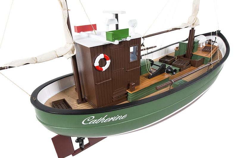 Naviscales -  Catherine - Fishing Boat, incl. Esc, Motor, Servo, No Radio