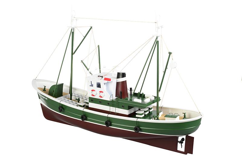 Naviscales -  Bretagne - Fishing Boat, incl. Esc, Motor, Servo, No Radio