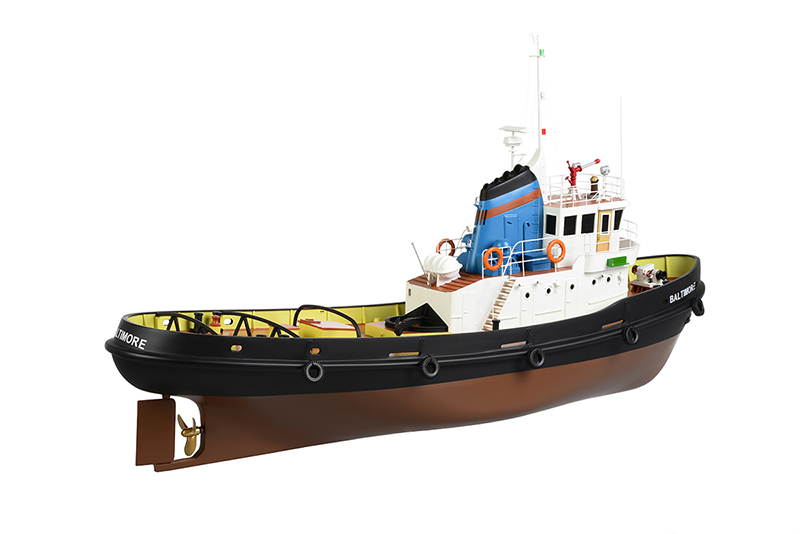 Naviscales -  Baltimore - Tug Boat, incl. Esc, Motor, Servo, No Radio