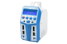 Pulsetec - Dual Charger - Mega 200 Duo - AC 100-240V - DC 11-18V - 2x 100W Power - 0.1-12A - 1-6 Li-xx - 1-15 Ni-xx - 2-20V PB
