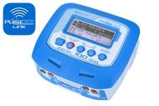 Pulsetec - Dual Charger - Excel 100 Duo - Pulse Link App - AC 100-240V - DC 11-18V - 100W Power - 0.1-10.0A - 1-6 Li-xx - 1-15 Ni-xx - 2-20V PB