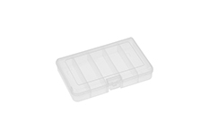 Rocabox - Assortment Box - RA-1611-03-05 - Clear - 5 Compartments