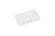 Rocabox - Assortment Box - RA-1611-03-06 - Clear - 6 Compartments