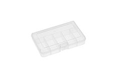 Rocabox - Assortment Box - RA-1611-03-06 - Clear - 6 Compartments