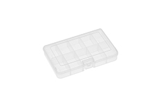 Rocabox - Assortment Box - RA-1611-03-10 - Clear - 10 Compartments