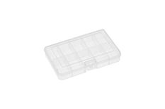 Rocabox - Assortment Box - RA-1611-03-10 - Clear - 10 Compartments