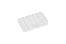 Rocabox - Assortment Box - RA-1611-03-15 - Clear - 15 Compartments