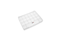 Rocabox - Assortment Box - RA-3225-05-21 - Clear - 21 Compartments