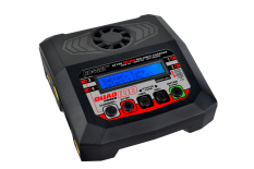 RC Plus - Power Quad 100 Charger - AC 100W - DC 4x 100W - 4x 4S Lixx - 8 Nixx - 16V PB