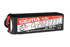 RC Plus - Li-Po Batterypack - Sigma 45C - 4200 mAh - 5S1P - 18.5V - XT-60