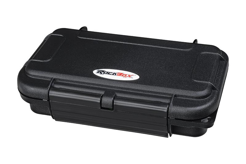 Rocabox - Waterproof IP67 Universal Case - Black - RW-1608-04-B
