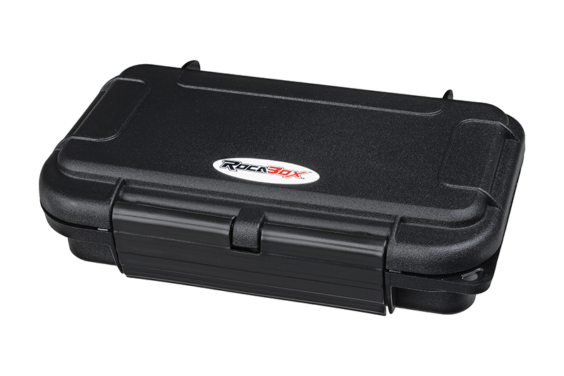 Rocabox - Waterproof IP67 Universal Case - Black - RW-1608-04-BD - Convulated Foam