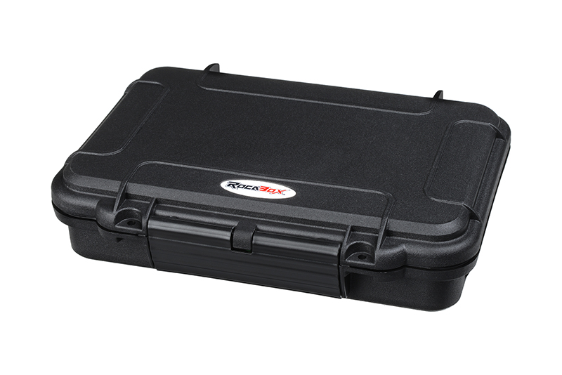 Rocabox - Waterproof IP67 Universal Case - Black - RW-2114-05-B