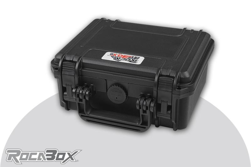 Rocabox - Waterproof IP67 Universal Case - Black - RW-2318-10-BF - Cubed Foam