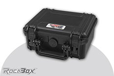 Rocabox - Waterproof IP67 Universal Case - Black - RW-2318-10-B