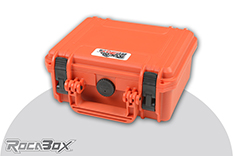 Rocabox - Waterproof IP67 Universal Case - Orange - RW-2318-10-OF - Cubed Foam