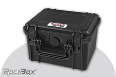 Rocabox - Waterproof IP67 Universal Case - Black - RW-2318-15-B