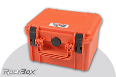 Rocabox - Waterproof IP67 Universal Case - Orange - RW-2318-15-OF - Cubed Foam