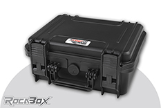 Rocabox - Waterproof IP67 Universal Case - Black - RW-3022-13-B