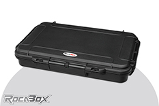 Rocabox - Waterproof IP67 Universal Case - Black - RW-3220-05-B