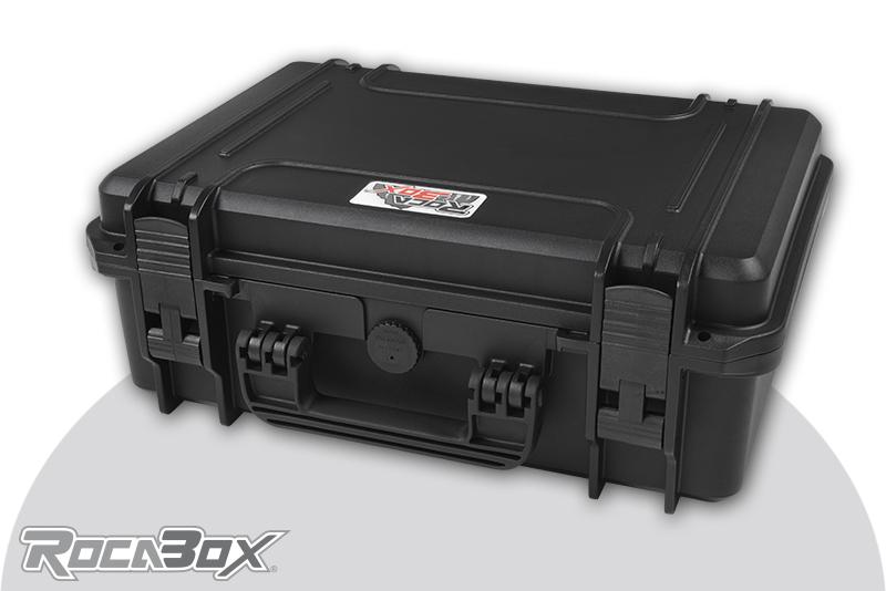 Rocabox - Waterproof IP67 Universal Case - Black - RW-4229-16-B